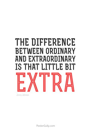 Wall Art, Be ExtraOrdinary, - PosterGully