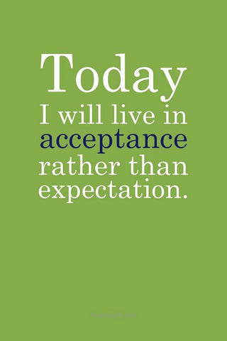 Wall Art, Live In Acceptance, - PosterGully