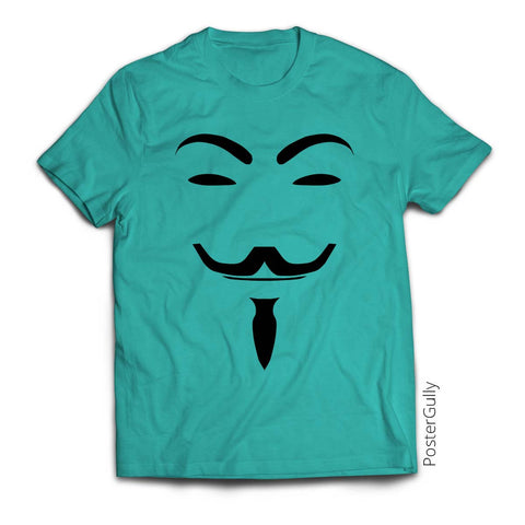 T Shirts, V For Vendetta T-Shirt | Artist: Shelton Lobo, - PosterGully