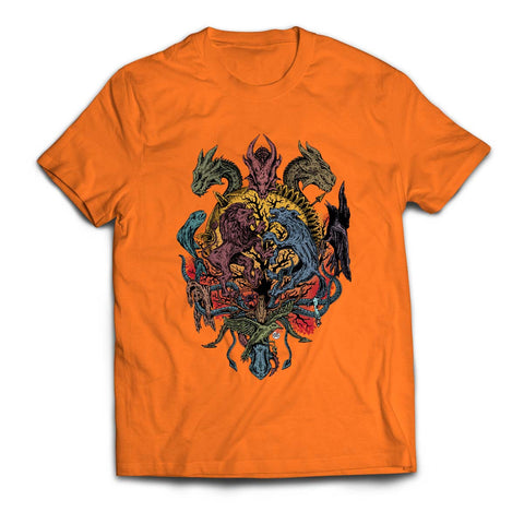T Shirts, Dragon T-Shirt | Artist: Monisha Miriam, - PosterGully