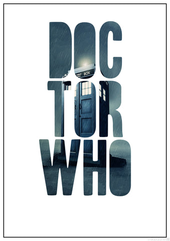 PosterGully Specials, Doctor Who | Minimal Art, - PosterGully