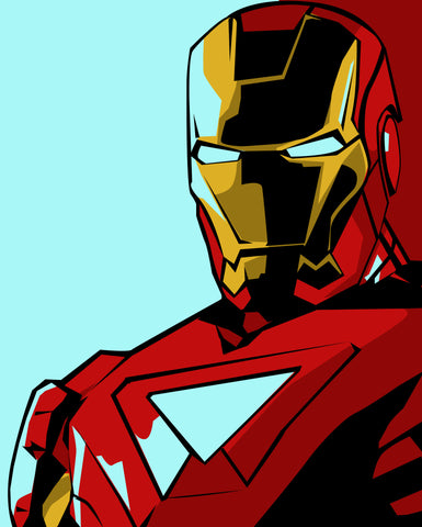PosterGully Specials, Iron Man | Pop Art, - PosterGully