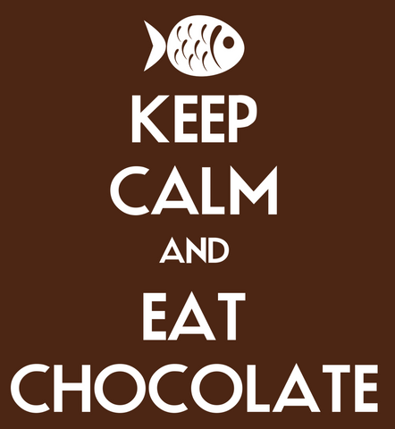 PosterGully Specials, Keep Calm & Eat Chocolate, - PosterGully