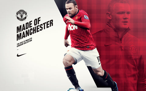 PosterGully Specials, Wayne Rooney | Made Of Manchester, - PosterGully