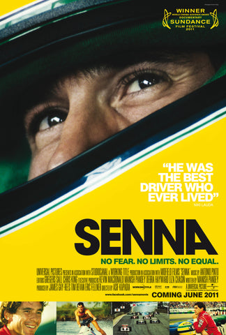 PosterGully Specials, Aryton Senna | Formula One Great, - PosterGully