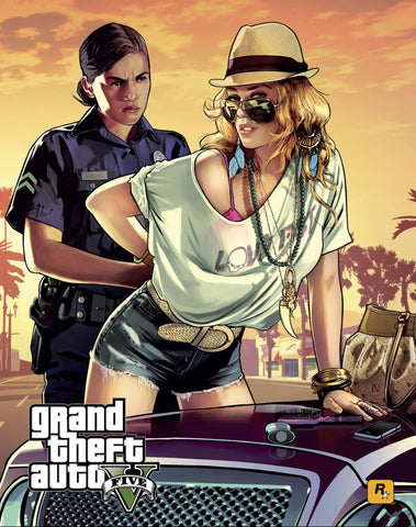 PosterGully Specials, Grand Theft Auto 5, - PosterGully