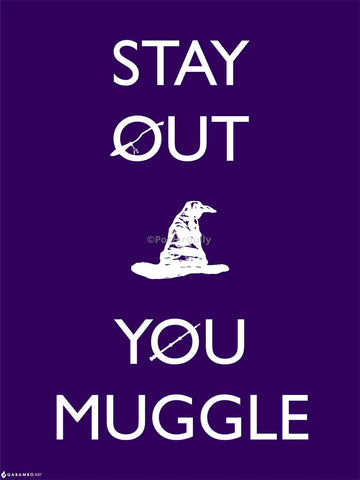 Yash Raj, Stay Out You Muggle, - PosterGully