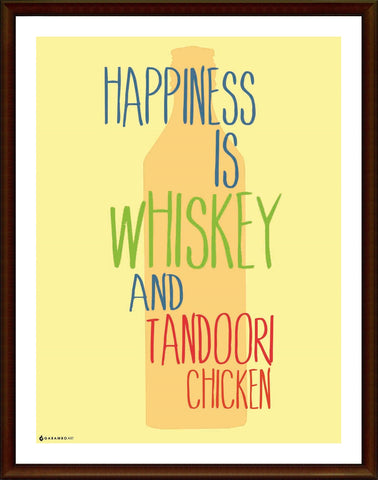 Yash Raj, Happiness - Whiskey, - PosterGully