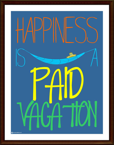 Yash Raj, Happiness - Paid vacation, - PosterGully
