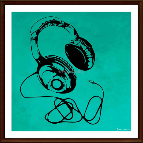 Yash Raj, Headphones - Pop Art, - PosterGully