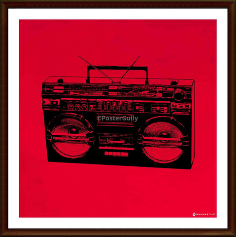 Yash Raj, Boombox - Pop Art, - PosterGully