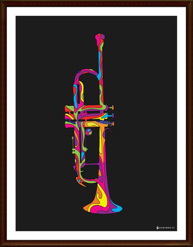 Yash Raj, Trumpet - Pop Art, - PosterGully