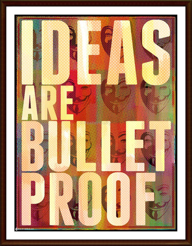 Yash Raj, Ideas Are Bulletproof, - PosterGully