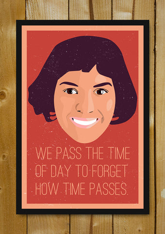 Glass Framed Posters, Pass The Time Amelie Glass Framed Poster, - PosterGully - 1