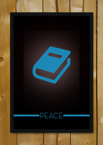 Glass Framed Posters, Peace Knows No Boundaries Glass Framed Poster, - PosterGully - 1