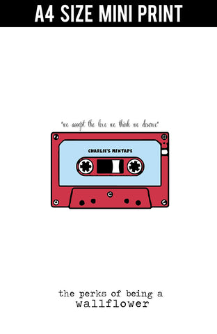 Mini Prints, Perks Of Being Wallflower | Mini Print, - PosterGully