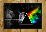 Glass Framed Posters, Pink Floyd The Dark Side Of The Moon Glass Framed Poster, - PosterGully - 1