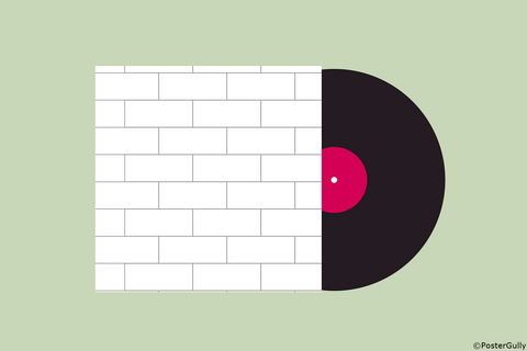 Wall Art, Pink Floyd The Wall |  Album Cover, - PosterGully