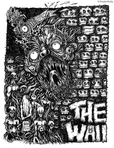 Wall Art, Pink Floyd | The Wall Line Art, - PosterGully