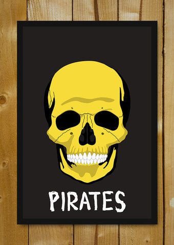 Glass Framed Posters, Pirates Glass Framed Poster, - PosterGully - 1
