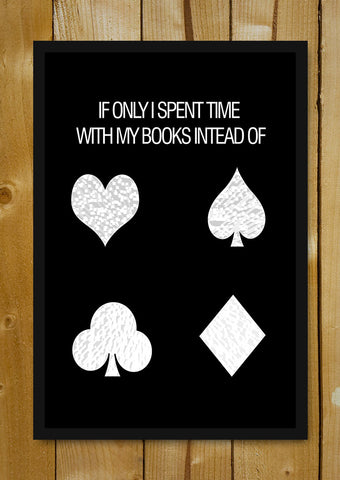 Glass Framed Posters, Poker Game Glass Framed Poster, - PosterGully - 1