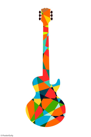 Wall Art, Pop Art Guitar, - PosterGully