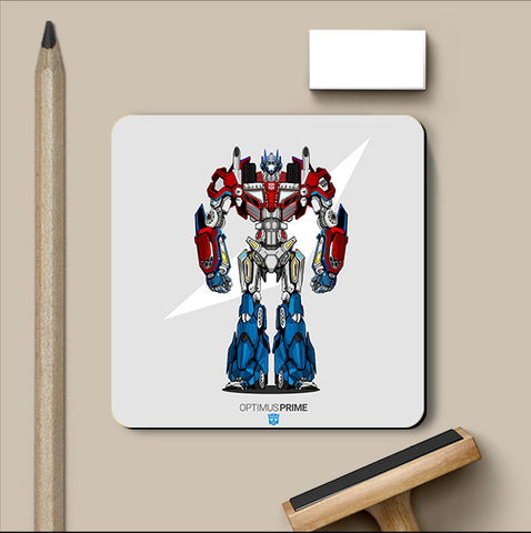 PosterGully Coasters, Project Optimus No Grunge Coaster | Artist: Siladityaa Sharma, - PosterGully