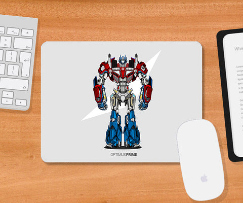 Mousepads, Project Optimus No Grunge Mousepad | Artist: Siladityaa Sharma, - PosterGully