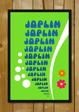Glass Framed Posters, Psychedelic Joplin Glass Framed Poster, - PosterGully - 1