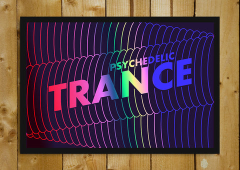 Glass Framed Posters, Psychedelic Trance Armin Van Buuren Glass Framed Poster, - PosterGully - 1