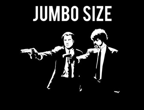 Jumbo Poster, Pulp Fiction | Jules & Vincent with Guns | Jumbo Poster, - PosterGully