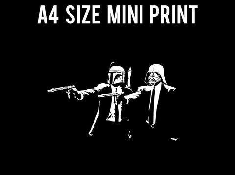 Mini Prints, Pulp Fiction & Star Wars | Mini Print, - PosterGully