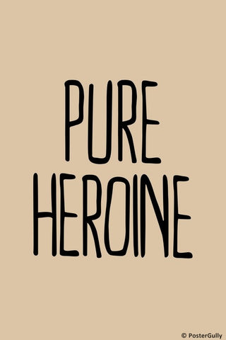 Wall Art, Pure Heroine Lorde, - PosterGully