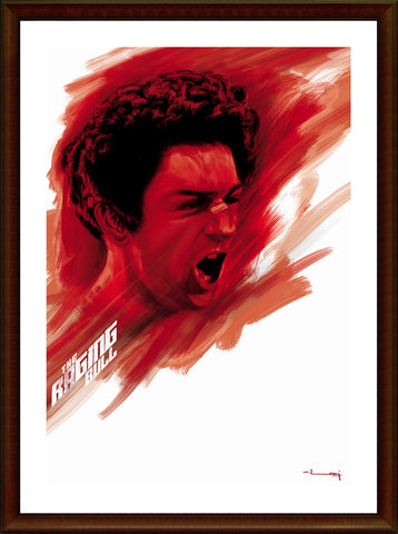 Wall Art, Raging Bull Artwork, - PosterGully