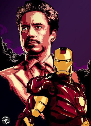 PosterGully Specials, Robert Downey | Iron Man 3, - PosterGully