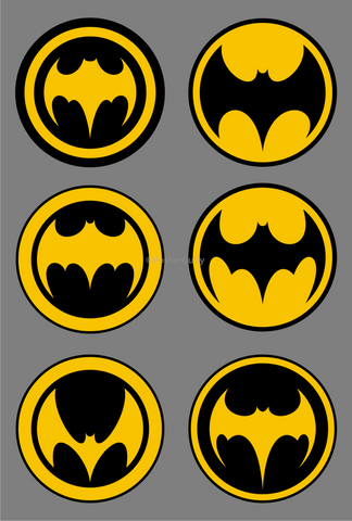 PosterGully Specials, Batman | Evolution Of Logos, - PosterGully