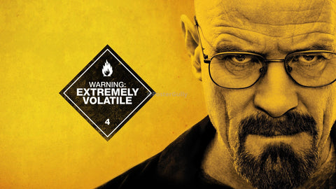 PosterGully Specials, Breaking Bad | Extremely Volatile, - PosterGully