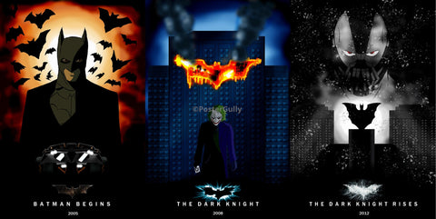 PosterGully Specials, Batman | The Trio, - PosterGully