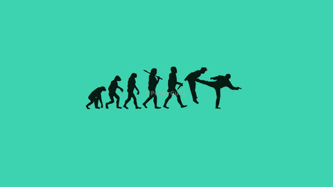 Wall Art, The Human Evolution | Gone Wrong, - PosterGully