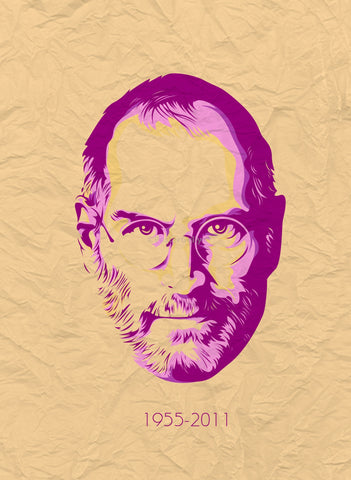 PosterGully Specials, Steve Jobs | 1955-2011 | The Legend, - PosterGully