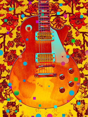 PosterGully Specials, Guitar | Abstract Artwork, - PosterGully