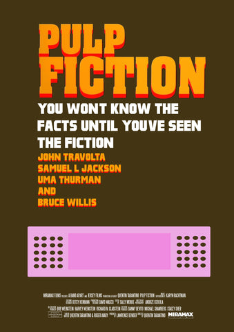 PosterGully Specials, Pulp Fiction | Know The Facts, - PosterGully