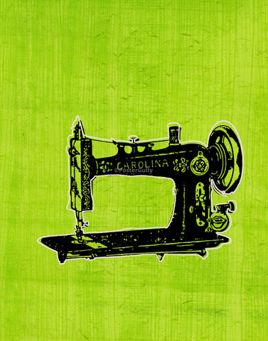 PosterGully Specials, Sewing Machine | Pop Art, - PosterGully
