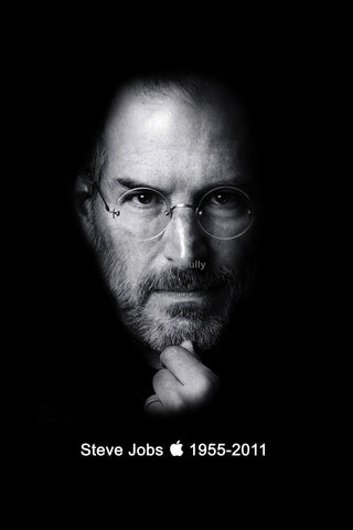 Wall Art, Steve Jobs | The Guru, - PosterGully