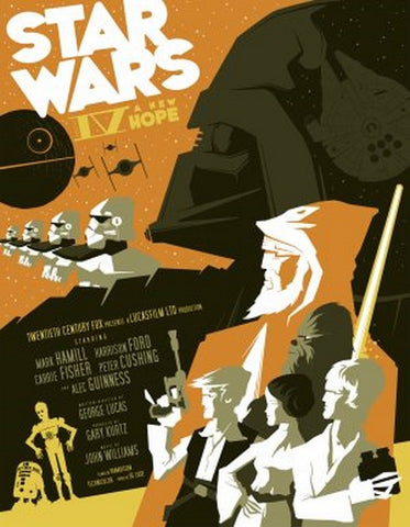 PosterGully Specials, Star Wars IV | A New Hope, - PosterGully