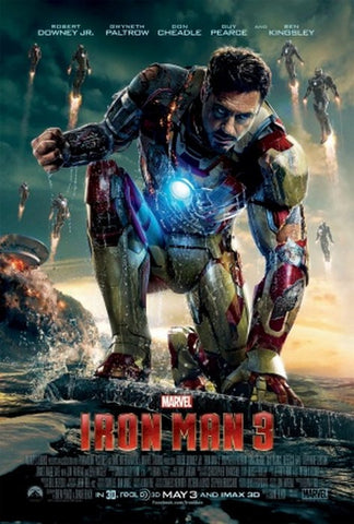PosterGully Specials, Iron Man 3 Movie Poster, - PosterGully