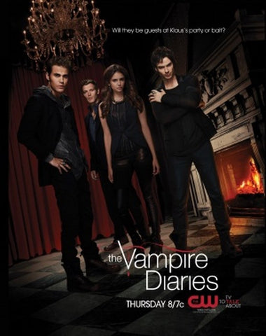 PosterGully Specials, Vampire Diaries | CW Official Poster, - PosterGully