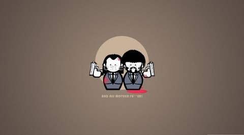 PosterGully Specials, Pulp Fiction | Cartoon Characters, - PosterGully