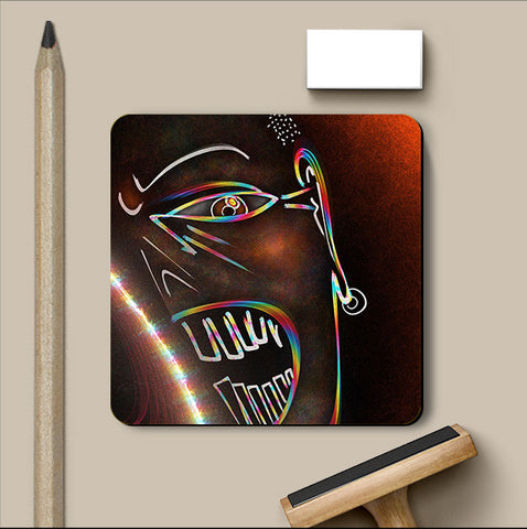 PosterGully Coasters, Rage Coaster | Artist: Devraj Baruah, - PosterGully