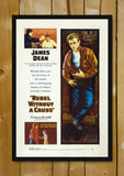 Glass Framed Posters, Rebel Without A Cause Glass Framed Poster, - PosterGully - 1